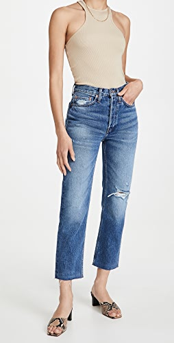 RE/DONE - 70s Stove Pipe Jeans