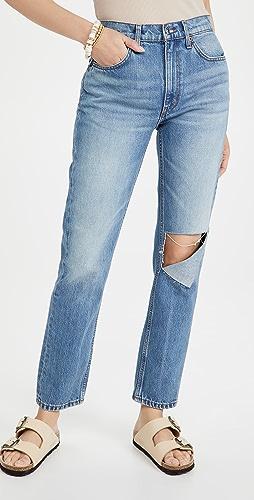 RE/DONE - 70 年代复古风格直脚牛仔裤