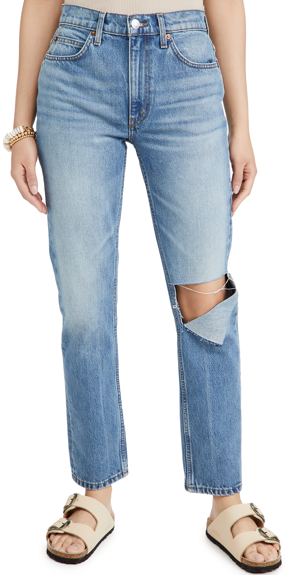 Re/done 70S STRAIGHT JEANS