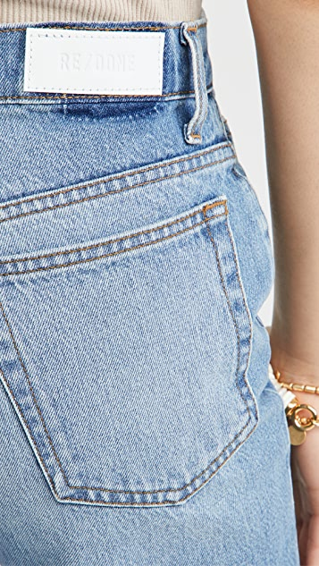 RE/DONE 70 年代复古风格直脚牛仔裤