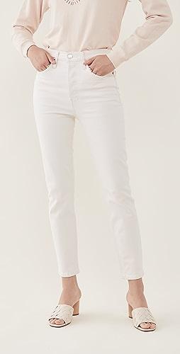 RE/DONE - 90 年代复古风格高腰九分牛仔裤