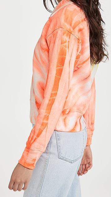 RE/DONE 70 年代复古风格半长拉链套头衫