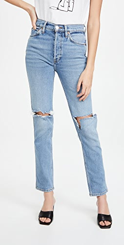 RE/DONE - 80s Slim Straight Jeans