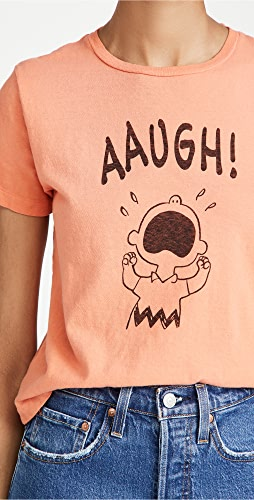 RE/DONE - Aaugh Classic Tee