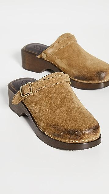 RE/DONE 70 年代复古风格经典木底鞋