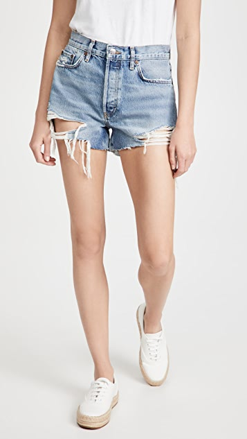 RE/DONE 70s High Rise Shorts
