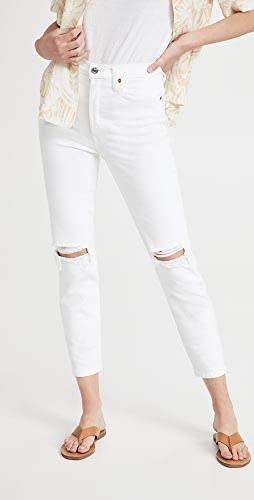 RE/DONE - 90s 高腰九分中长牛仔裤