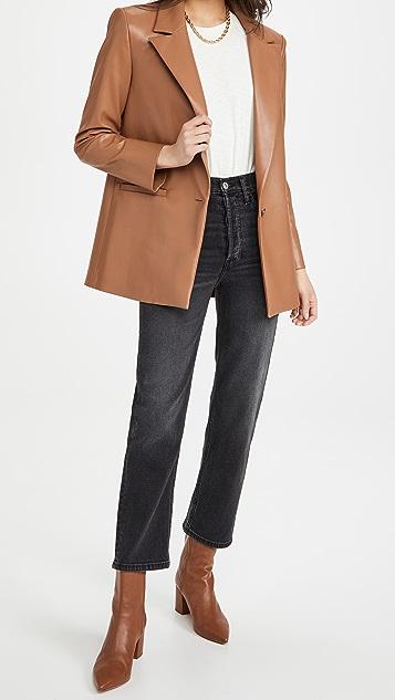 RE/DONE '70s 超高腰烟管牛仔裤
