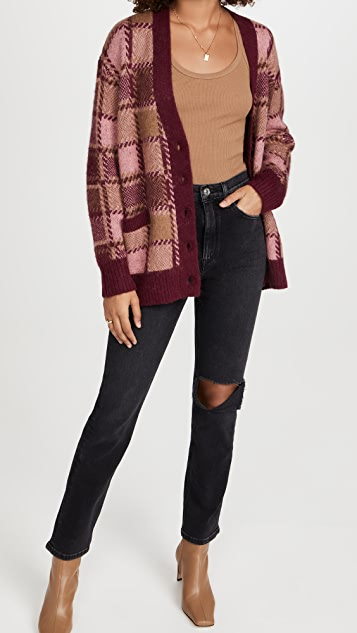 RE/DONE 90S Oversized Cardigan