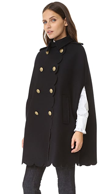 RED Valentino Cape Coat