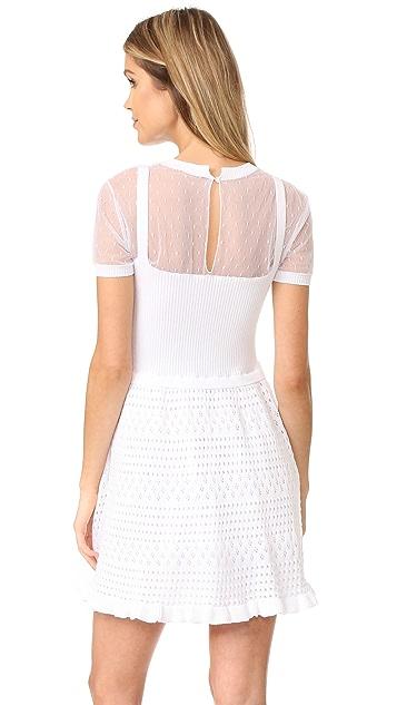 RED Valentino Point d'Esprit Dress