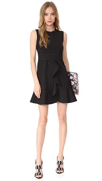 RED Valentino Ruffled Dress