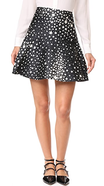 RED Valentino Star Skirt