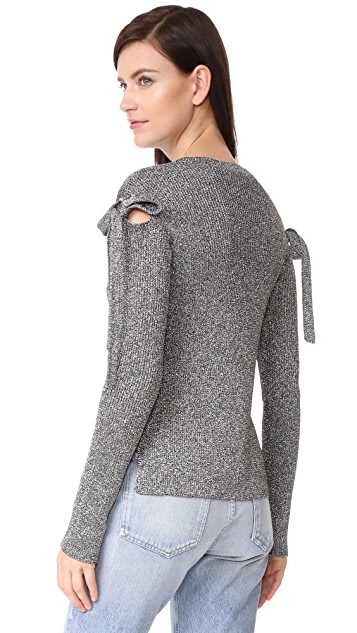 RED Valentino Tie Sweater