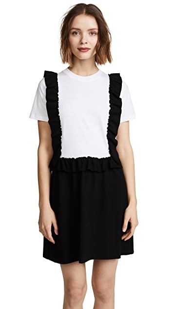 RED Valentino Pinafore Tee Dress