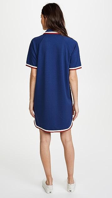 RED Valentino Collared Polo Dress