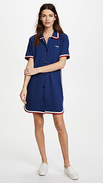 RED Valentino Collared Polo Dress
