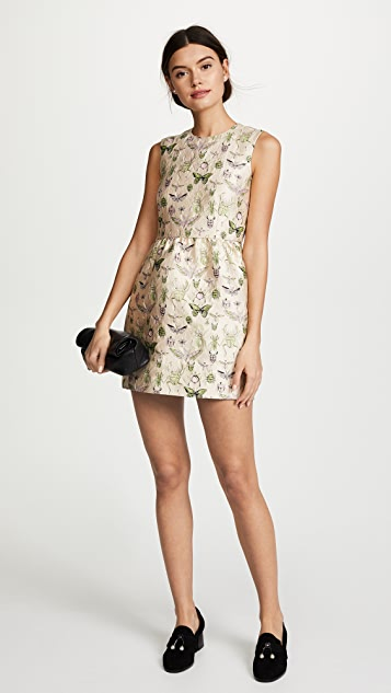 RED Valentino Brocade Dress