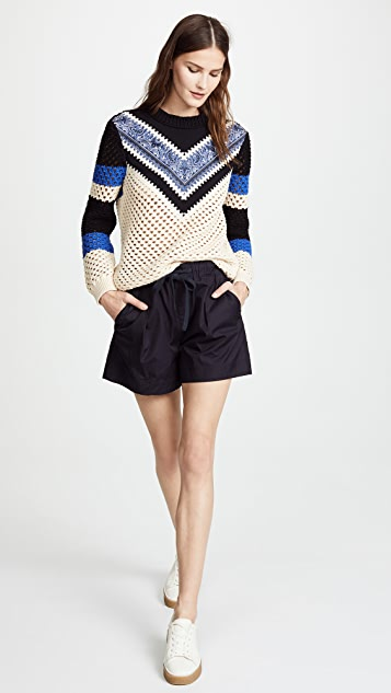 RED Valentino V Neck Sweater