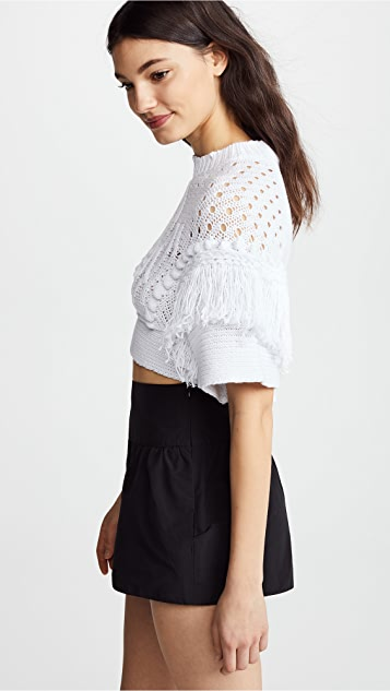 RED Valentino Textured Knit Top