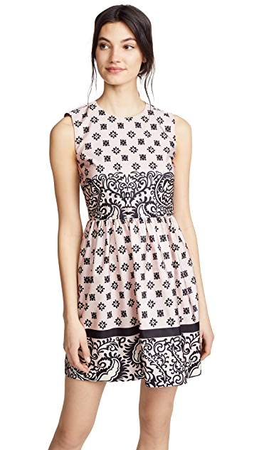RED Valentino Printed Mini Dress