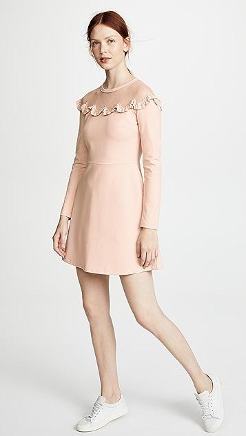 RED Valentino Bib Neck Dress