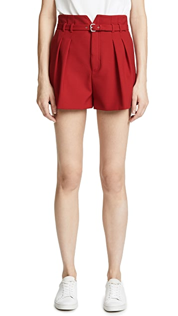 RED Valentino High Waist Shorts