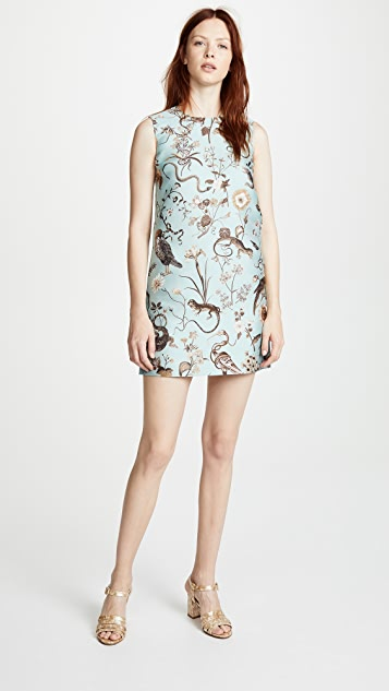 4f7822ddbcd RED Valentino Floral Shift Dress