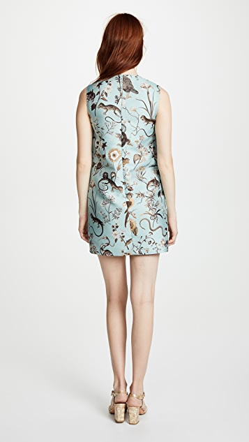 RED Valentino Floral Shift Dress