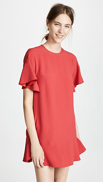 RED Valentino Tiered Shift Dress
