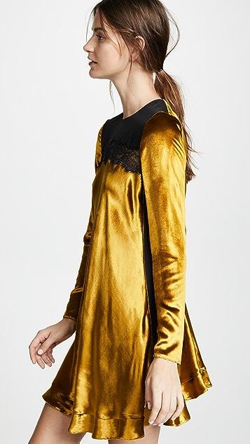 RED Valentino Velvet Dress