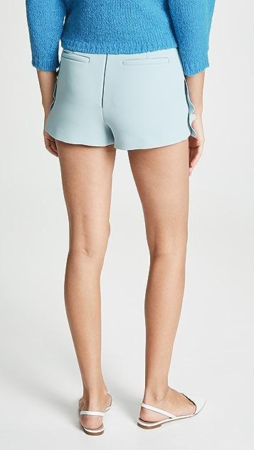 RED Valentino Ruffled Pull On Shorts