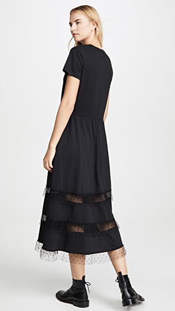 RED Valentino Jersey Dress