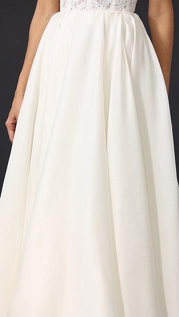 6eca2e7c26 Reem Acra Pleated Ball Skirt | SHOPBOP