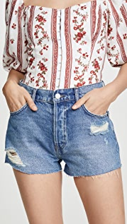 Reformation Dixie 高腰牛仔短裤