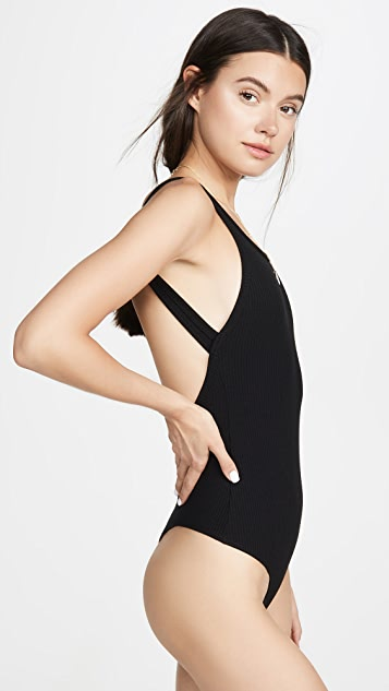 Reformation Daisy Thong Bodysuit