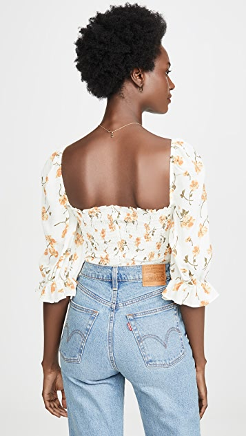 Reformation Georgia Top