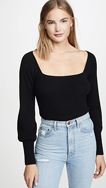 Isabel Cashmere Sweater by Reformation