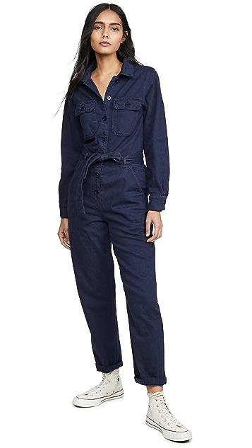 Reformation Kendall Boiler Suit Jumpsuit