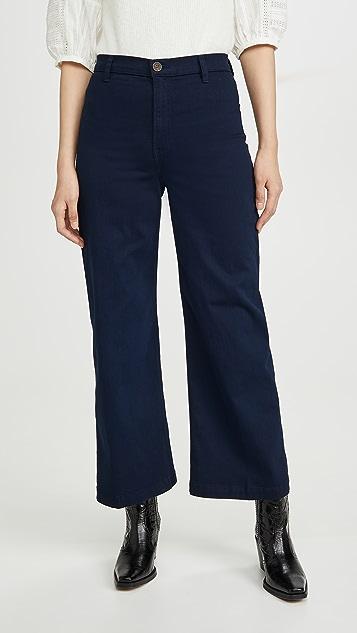 Reformation Широкие джинсы Jane