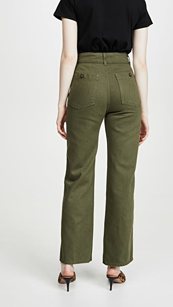 Reformation Marine 牛仔裤