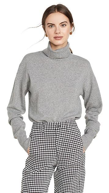 Reformation 开司米羊绒男孩风格高领毛衣