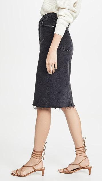 Reformation Midi Retooled Skirt