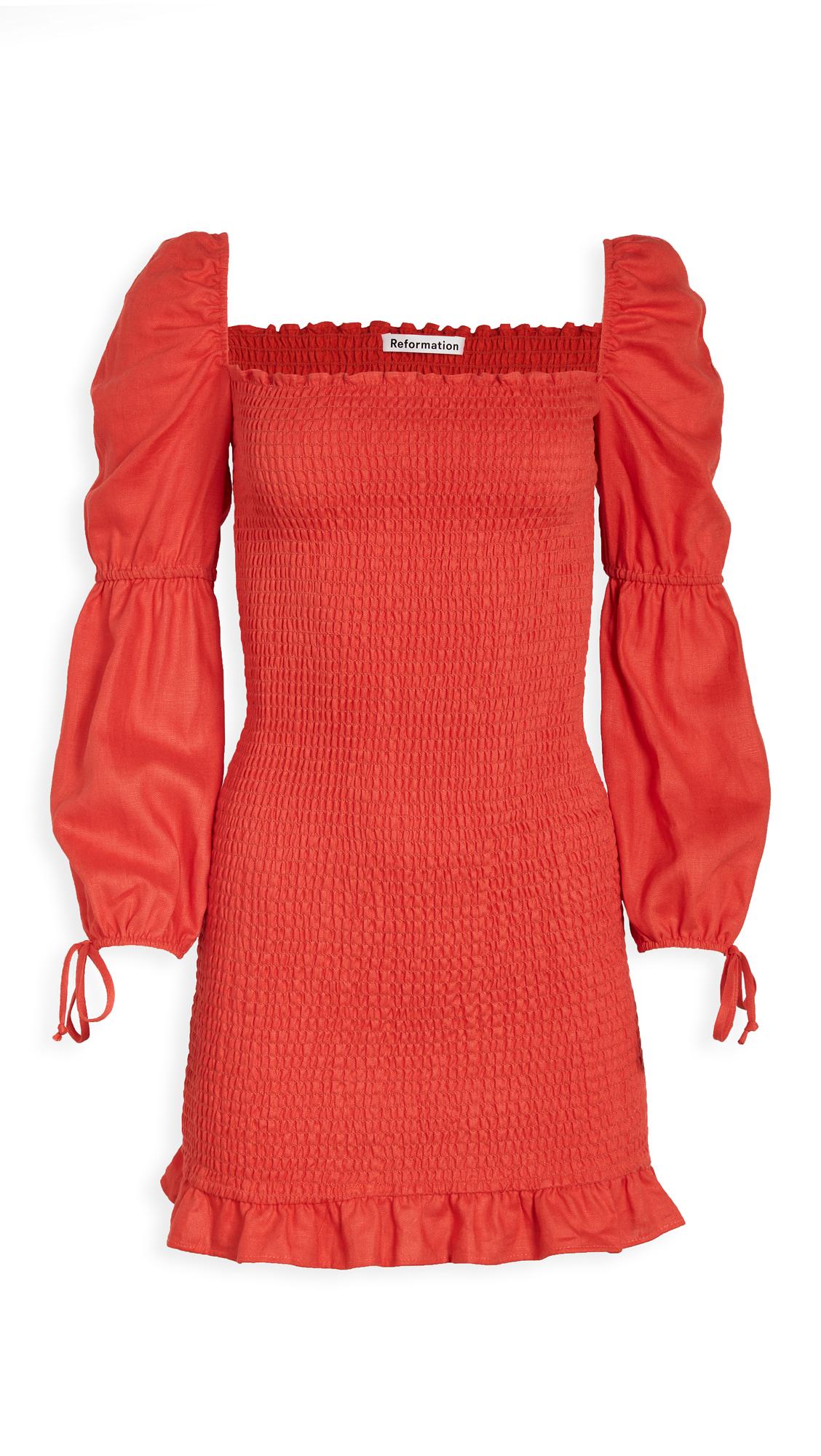 Reformation Hilary Dress