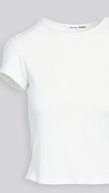 Reformation James 短款 T 恤