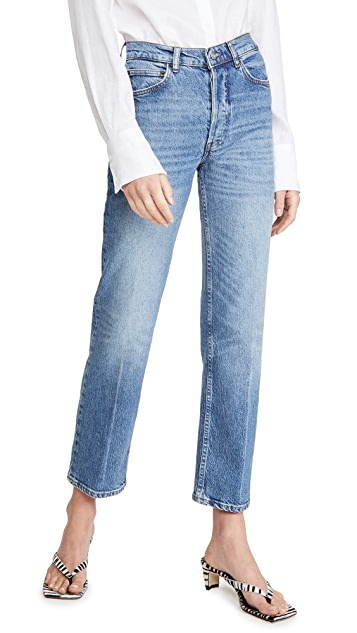 Reformation Juliet High Straight Relaxed Jeans