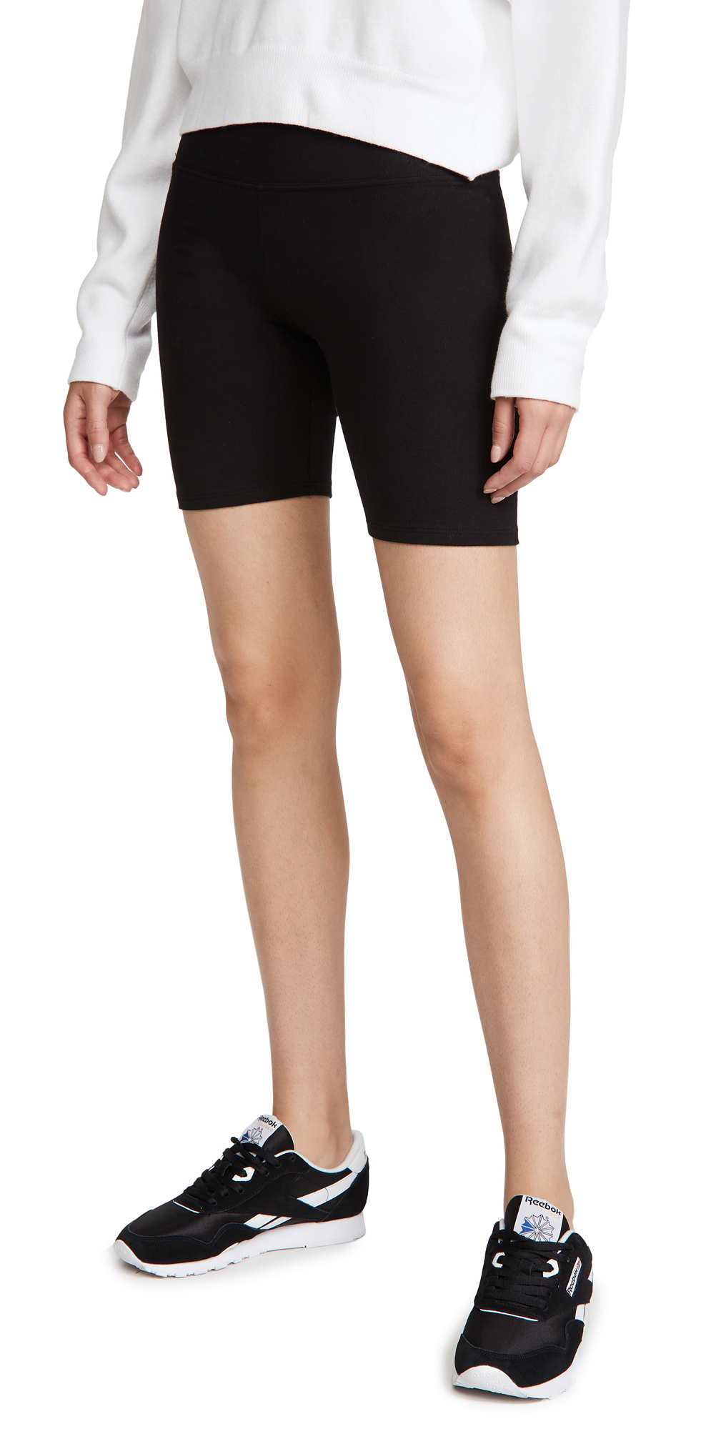 Reformation Court High Rise Bike Shorts
