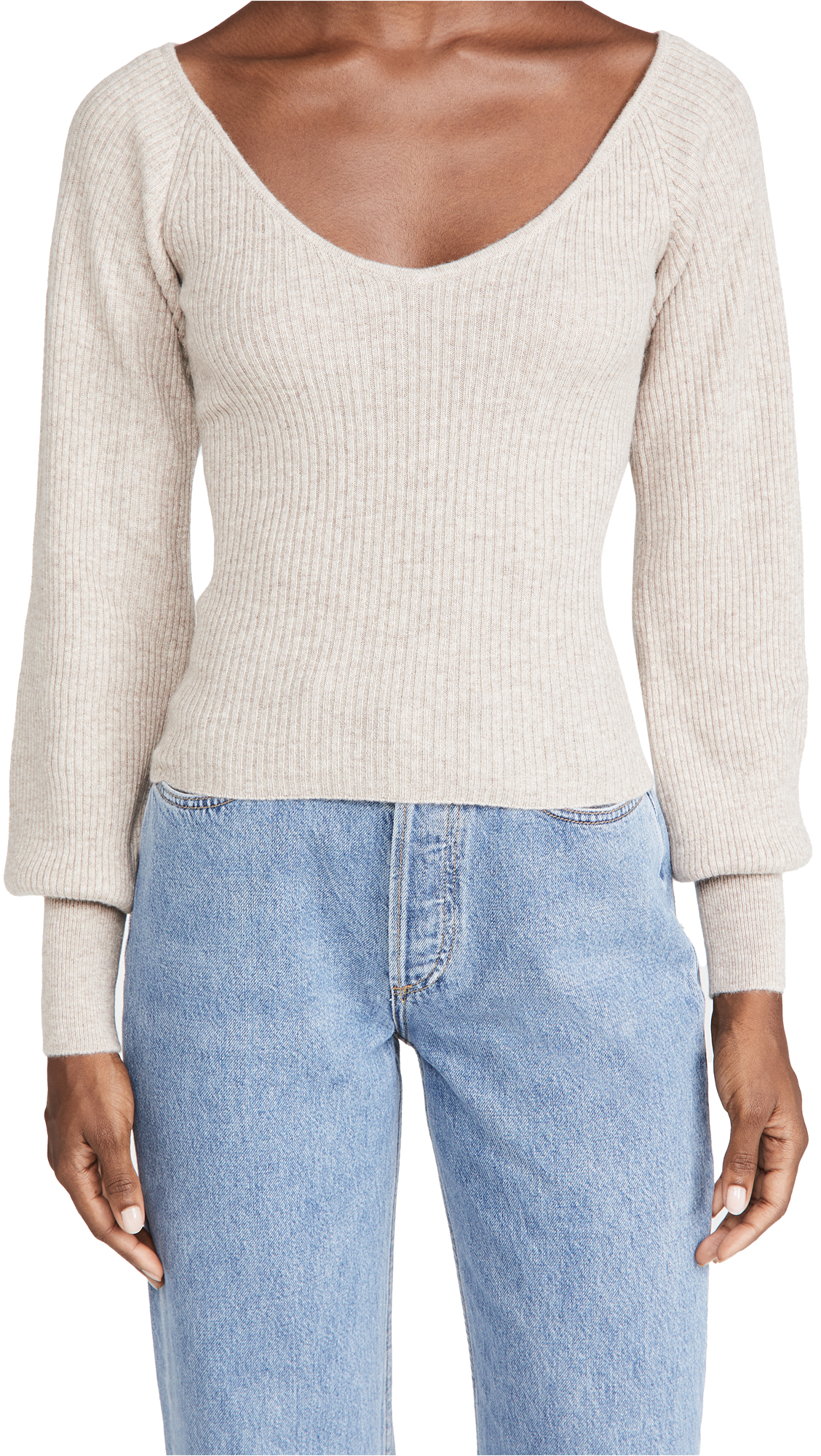 Reformation Hart Cashmere Sweater