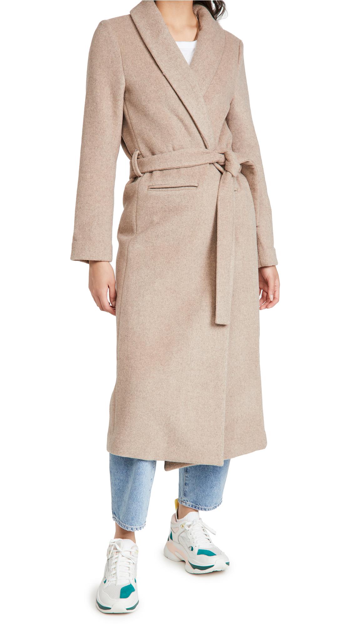 Reformation Greenwich Coat