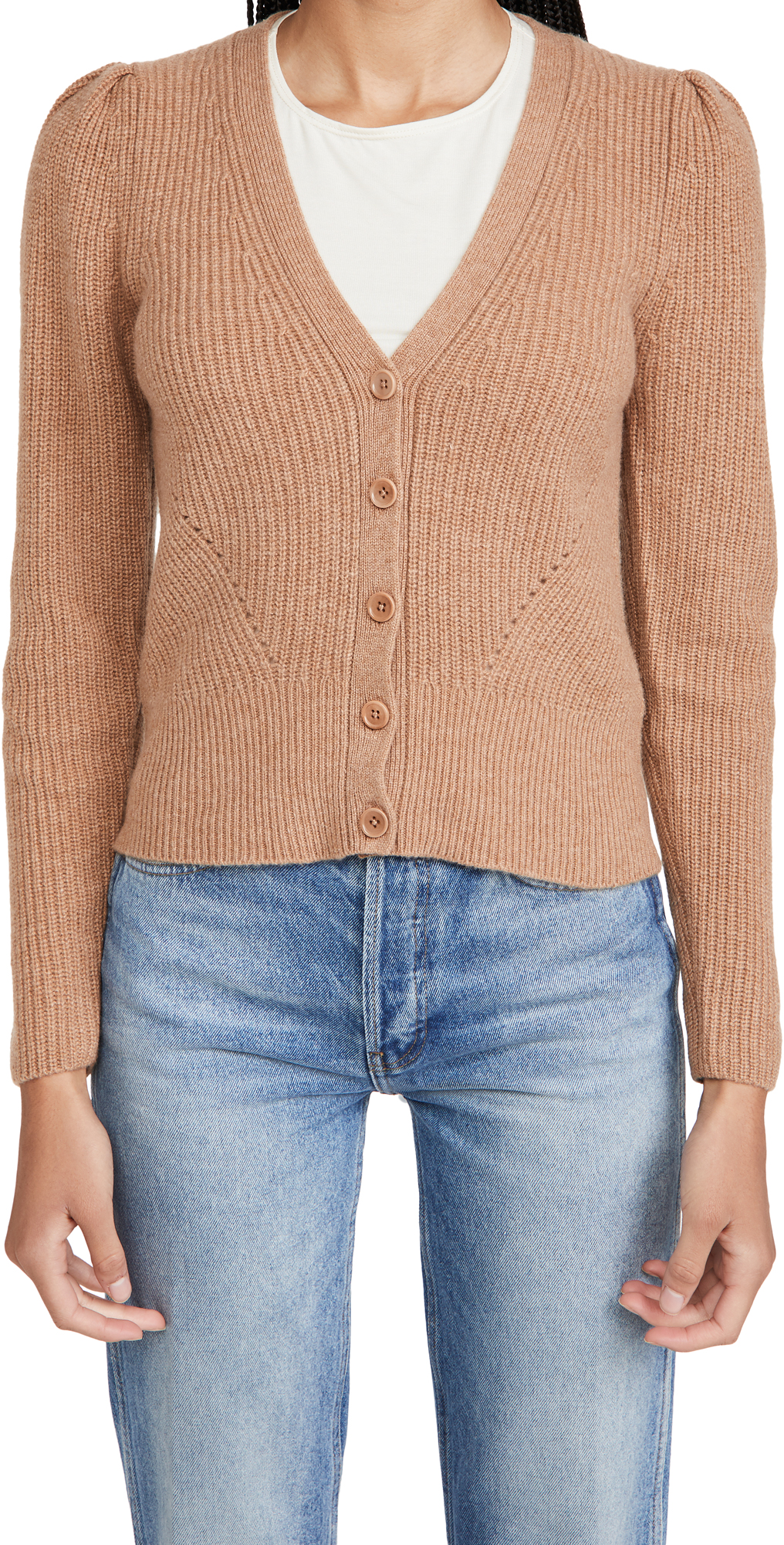 Reformation Fossi Cashmere Cardigan